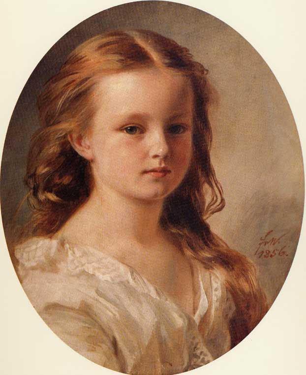 Roza Potocka 1856 | Franz Xavier Winterhalter | oil painting