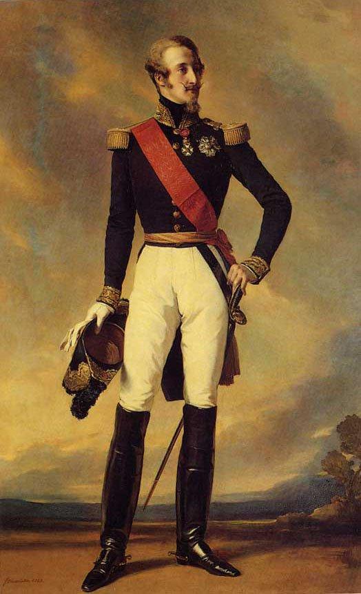 Louis Charles Philippe Raphael D'Orleans Duc de Nemours 1843   Franz Xavier Winterhalter   oil painting