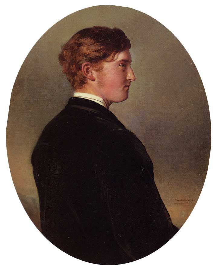William Douglas Hamilton 12th Duke of Hamilton 1863   Franz Xavier Winterhalter   oil painting