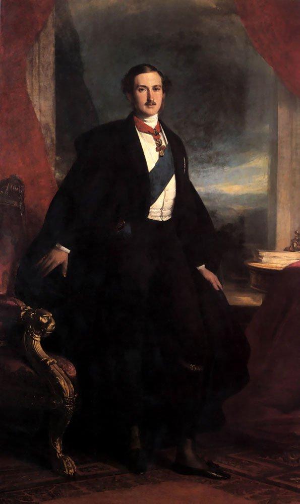 Prince Albert 1846   Franz Xavier Winterhalter   oil painting