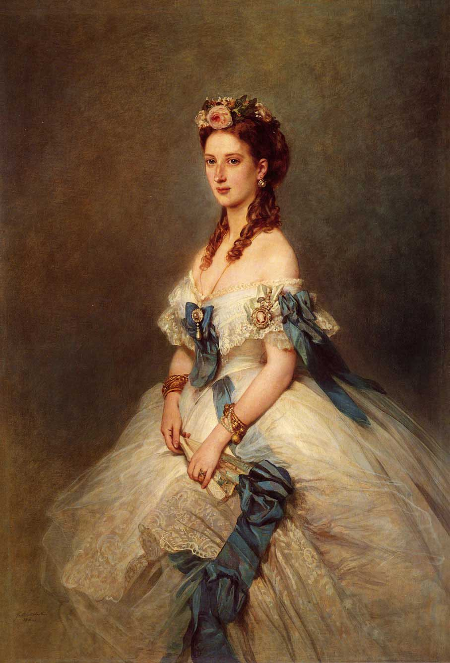 Alexandra Princess of Wales 1864 | Franz Xavier Winterhalter | oil painting