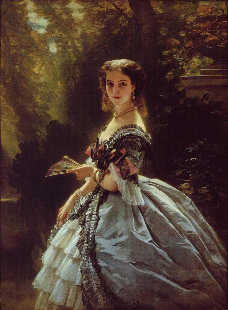 Princess Elizabeth Esperovna Belosselsky Belosenky Princess Troubetskoi 1859   Franz Xavier Winterhalter   oil painting