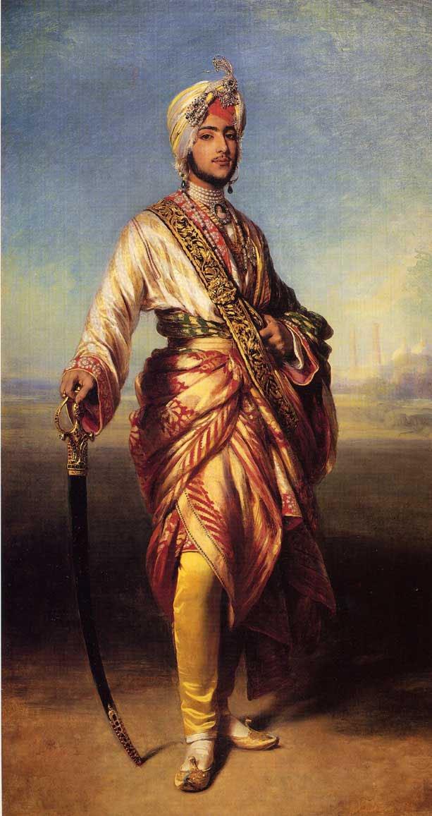 The Maharajah Duleep Singh 1854   Franz Xavier Winterhalter   oil painting