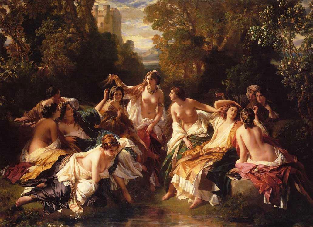 Florinda 1852 | Franz Xavier Winterhalter | oil painting