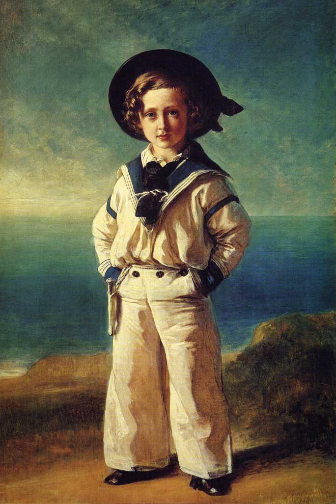 Albert Edward Prince of Wales 1846 | Franz Xavier Winterhalter | oil painting