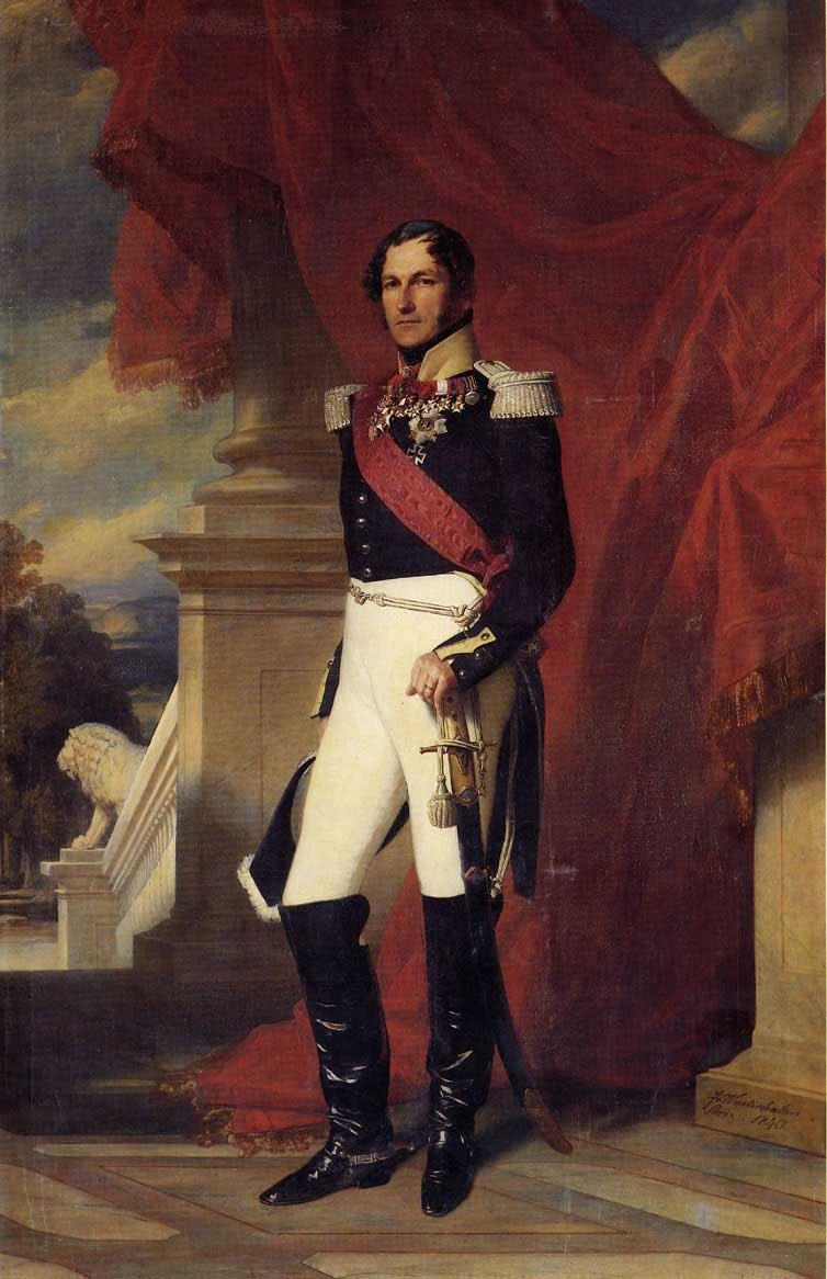 Leopold I King of the Belgians 1840   Franz Xavier Winterhalter   oil painting