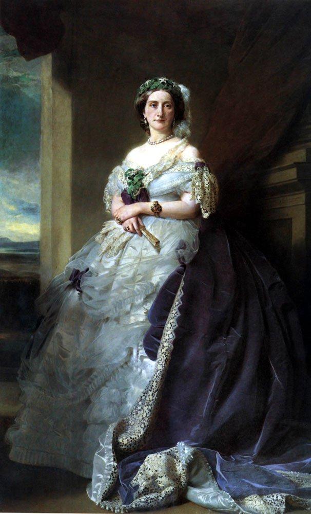 Julia Louise Bosville Lady Middleton 1863   Franz Xavier Winterhalter   oil painting