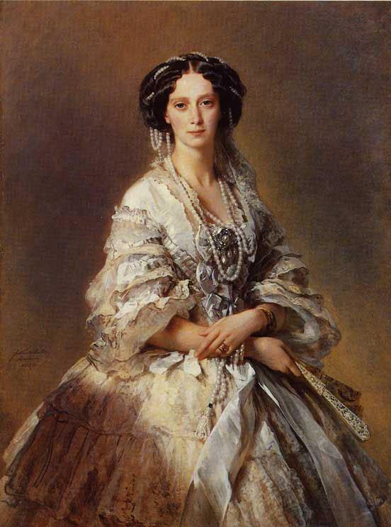 The Empress Maria Alexandrovna of Russia   Franz Xavier Winterhalter   oil painting