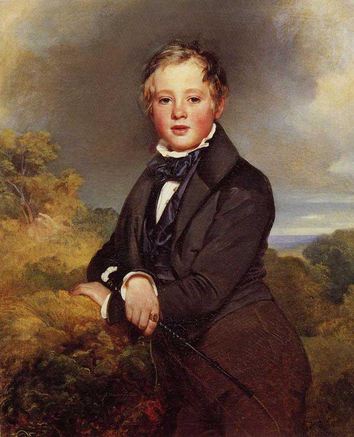 Ludwig Graf Von Langenstein 1834   Franz Xavier Winterhalter   oil painting