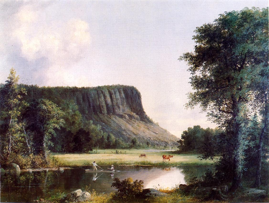 East Rock New Haven 1857 | George Henry Durrie | oil painting