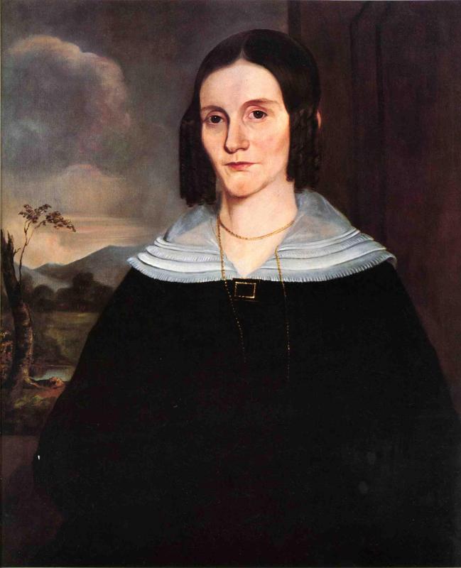 Mrs John Forman 1841 | George Henry Durrie | oil painting