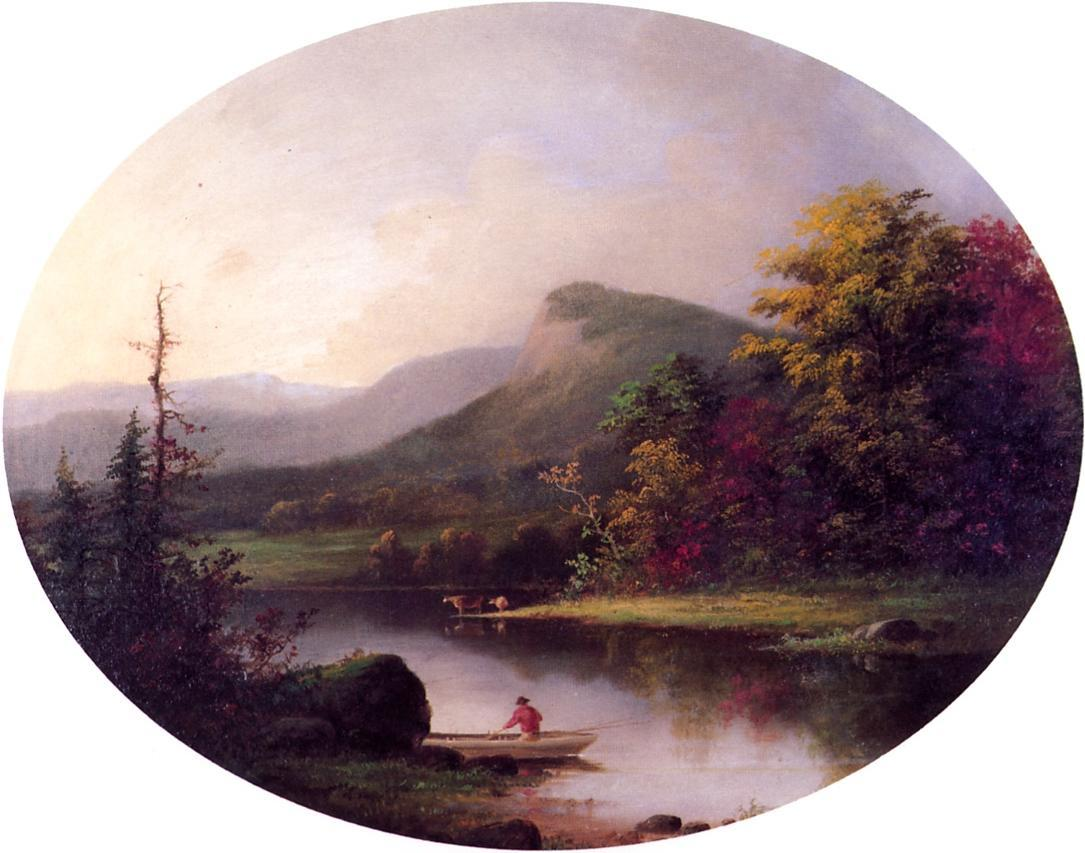 Autumn 1853 1855 | George Henry Durrie | oil painting