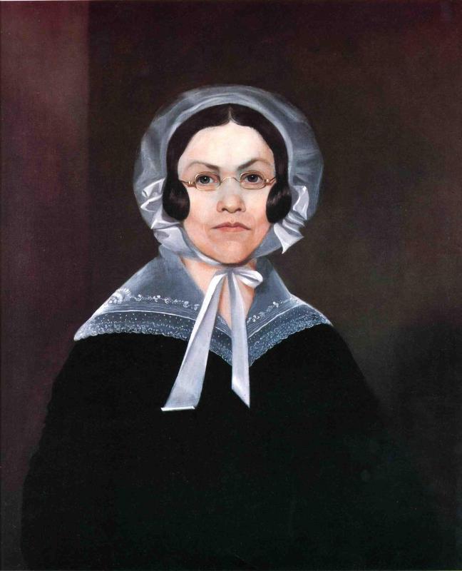 Sarah Murcelus 1841 | George Henry Durrie | oil painting
