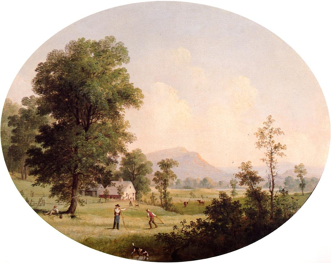 Summer Farm Scene 1853 1855 | George Henry Durrie | oil painting