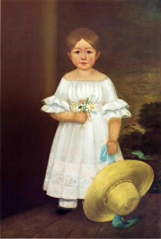 Elizabeth OKane 1842 | George Henry Durrie | oil painting