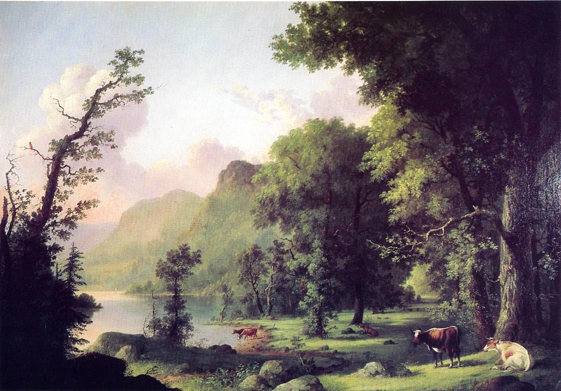 Summer on the Housatonic 1856 | George Henry Durrie | oil painting