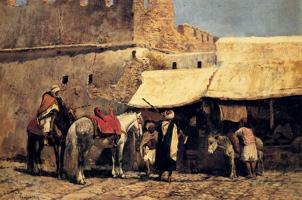 Tangiers 1878 | Edwin Lord Weeks | oil painting