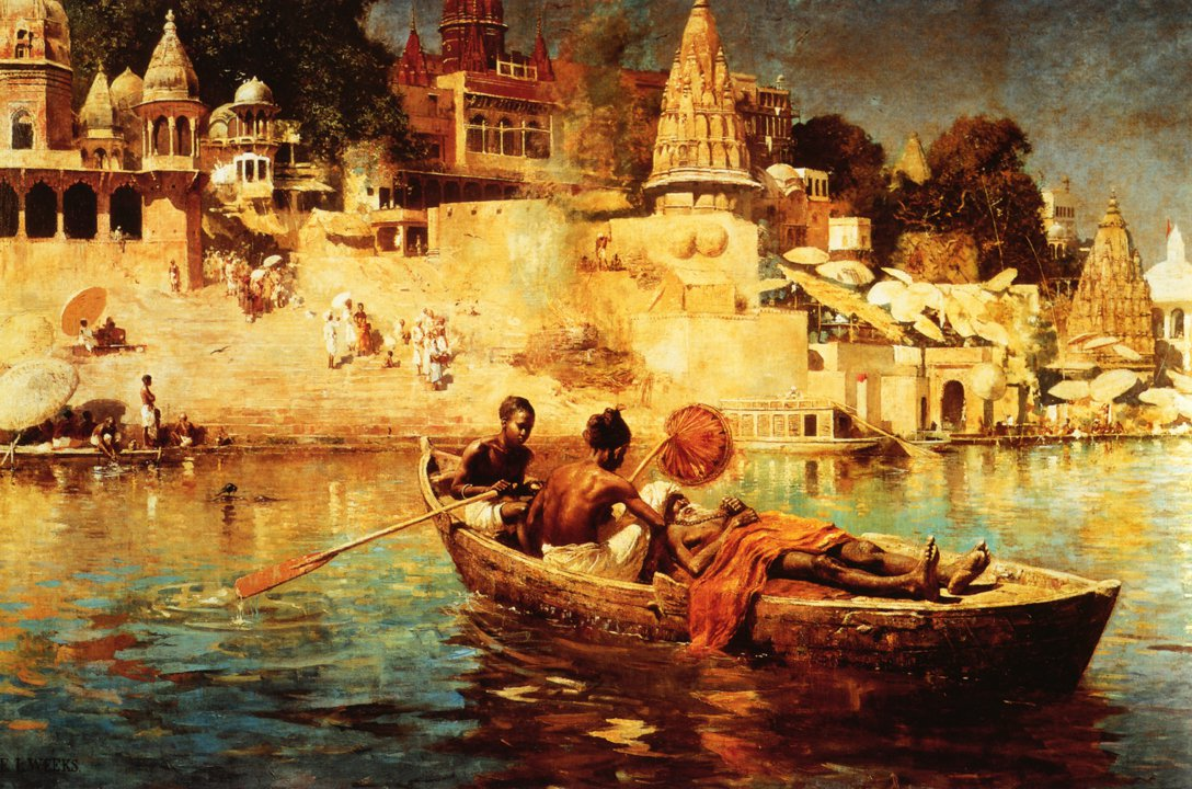 The Last Voyage 1884 | Edwin Lord Weeks | oil painting