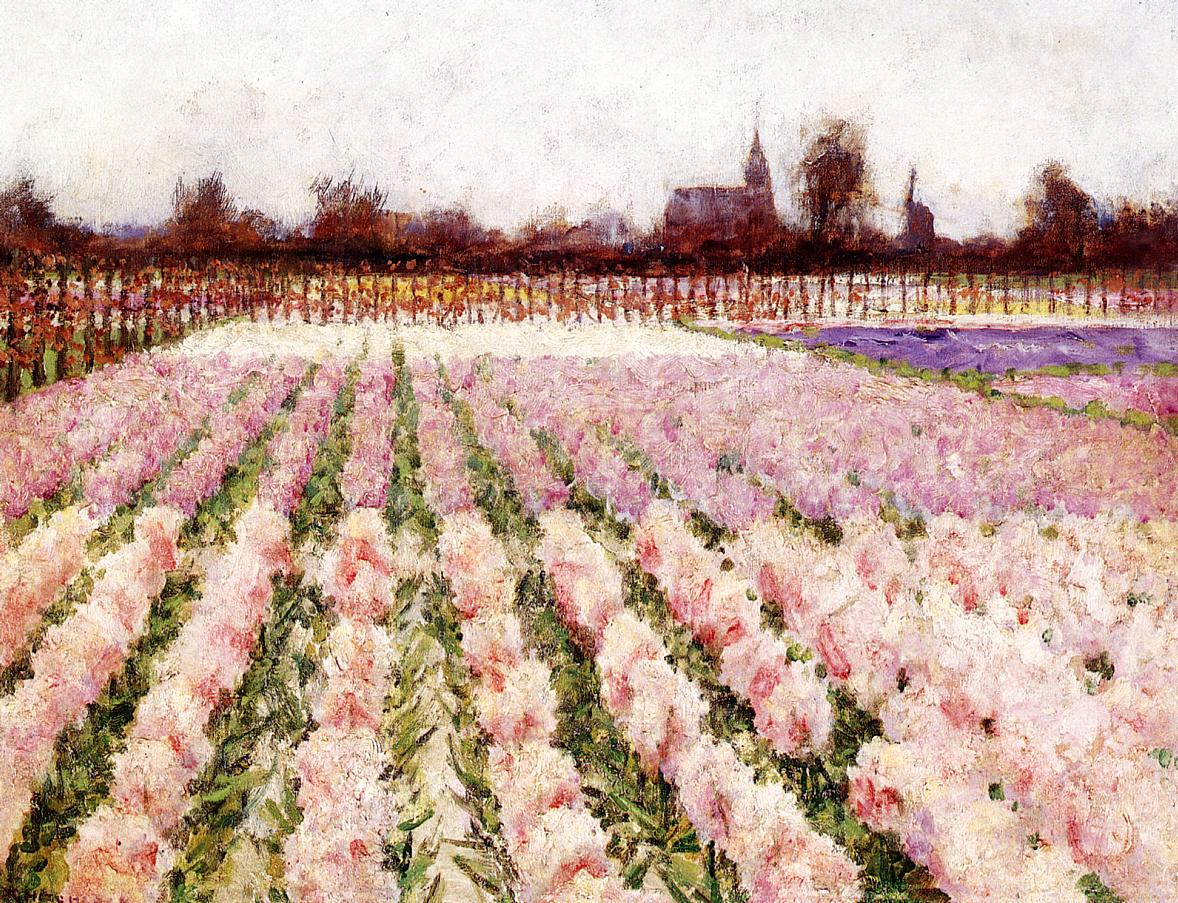 Field of Flowers Date unknown | George Hitchcock | oil painting