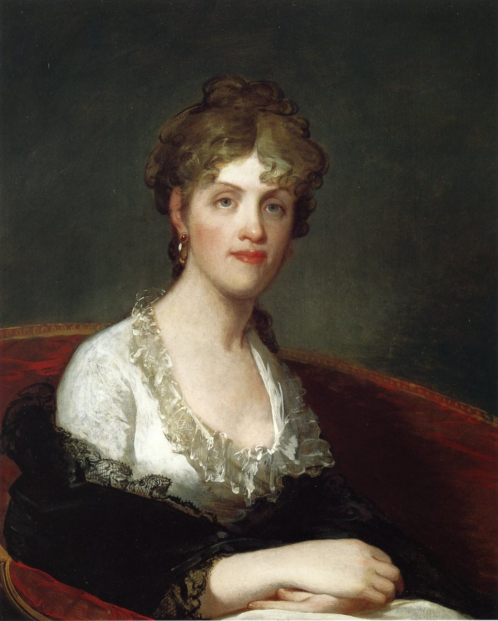 Helena Lawrence Holmes Penington 1803 | Gilbert Stuart | oil painting
