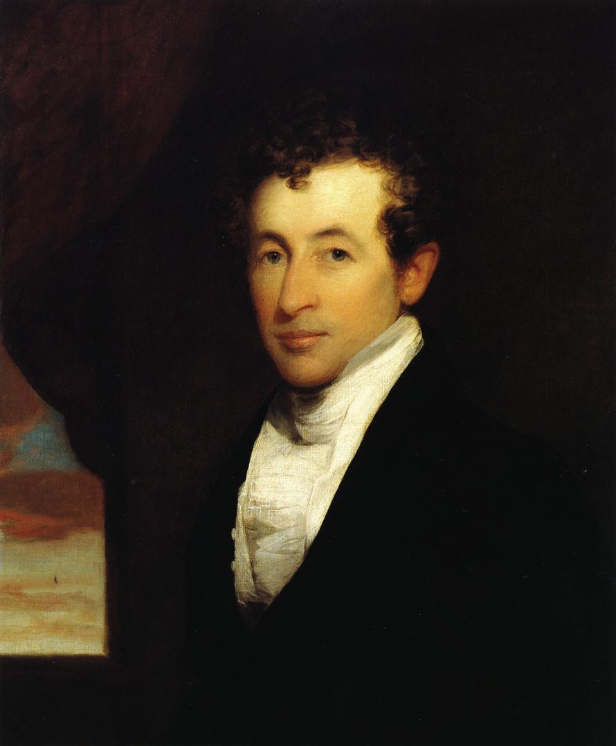 Samuel Jackson Gardner 1825 | Gilbert Stuart | oil painting