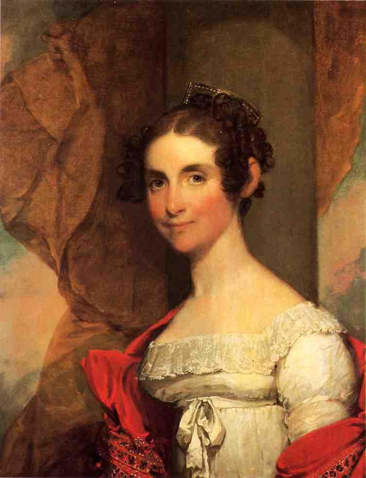 Elizabeth Porter Wheeler 1823 | Gilbert Stuart | oil painting