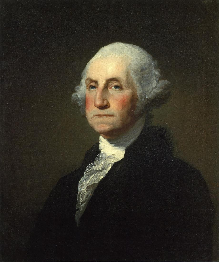 George Washington 1796 1803 | Gilbert Stuart | oil painting