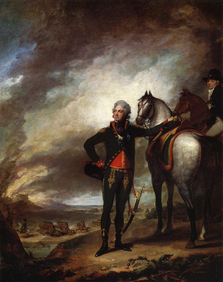 Louis Marie Vicomte de Noailles 1798 | Gilbert Stuart | oil painting