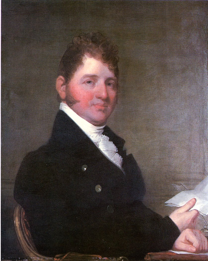 Francis James Jackson 1810 | Gilbert Stuart | oil painting