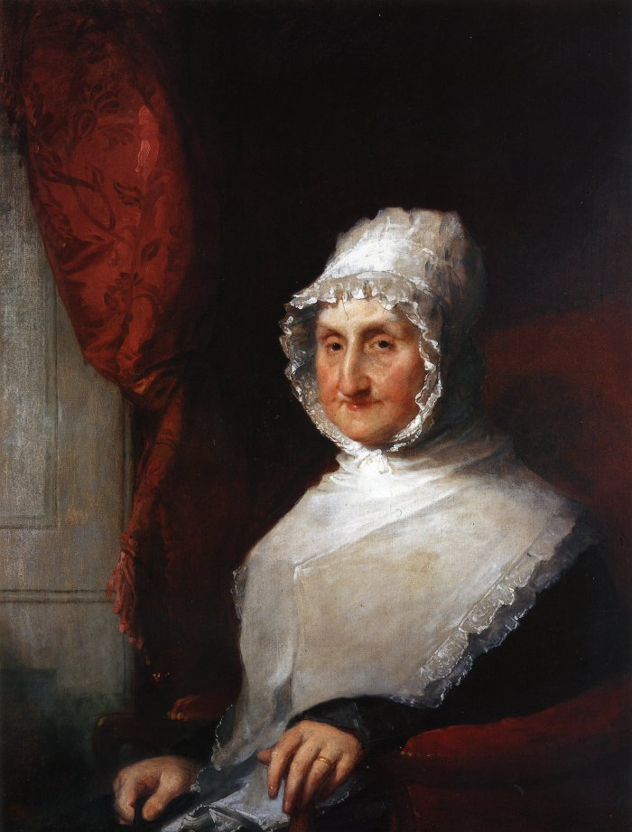 Lydia Pickering Williams 1824 | Gilbert Stuart | oil painting
