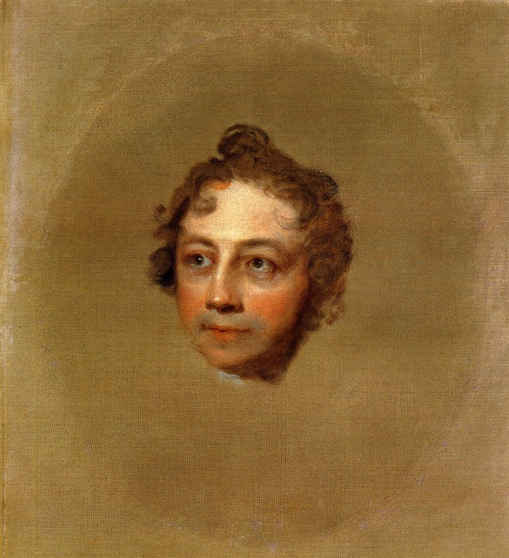 Washington Allston 1818   Gilbert Stuart   oil painting