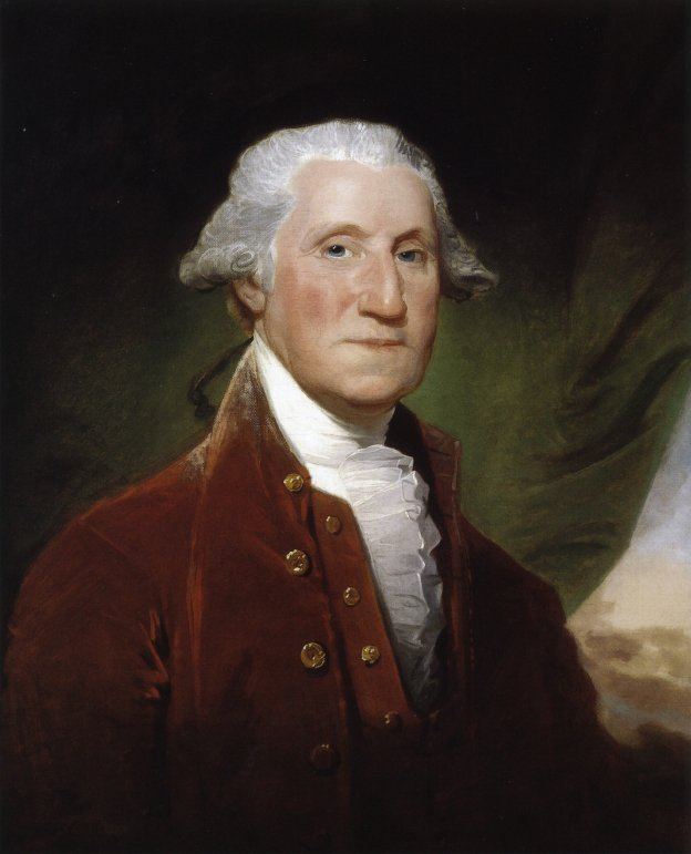 George Washington 1795 | Gilbert Stuart | oil painting
