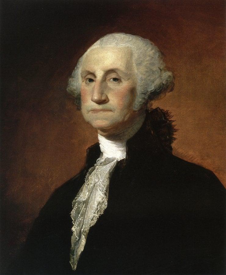 George Washington 1797 | Gilbert Stuart | oil painting