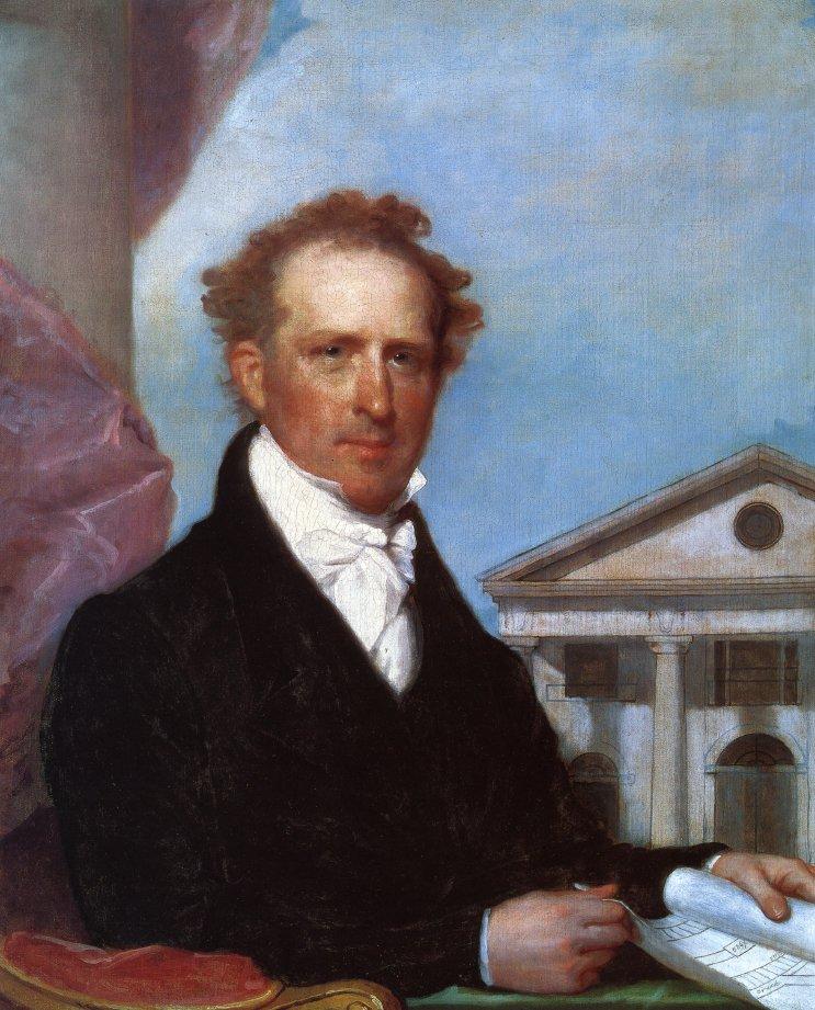 Josiah Quincy 1824 1825 | Gilbert Stuart | oil painting
