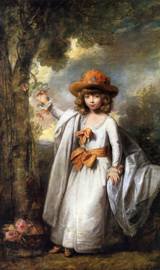 Henrietta Elizabeth Frederica Vane 1782 1783 | Gilbert Stuart | oil painting