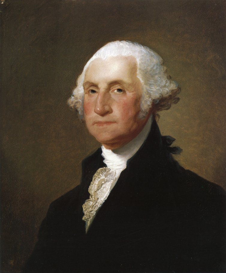 George Washington 1820 | Gilbert Stuart | oil painting