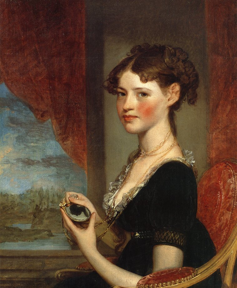 Ann Penington 1805 | Gilbert Stuart | oil painting