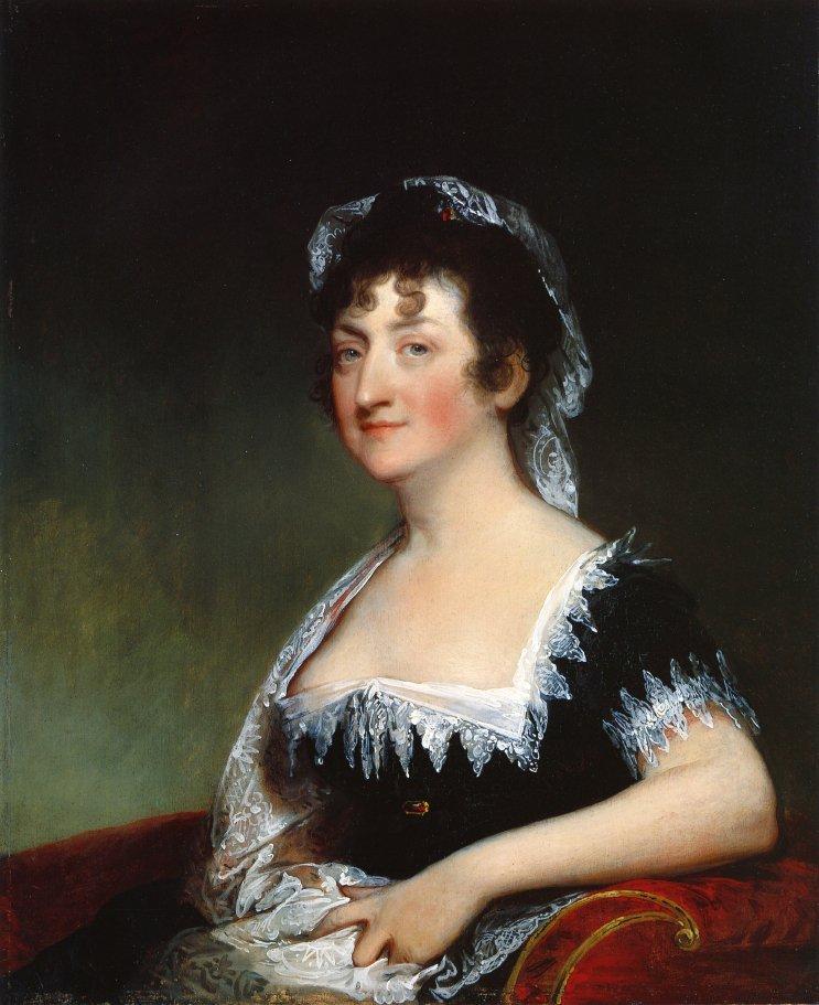 Hepzibah Clarke Swan 1806 | Gilbert Stuart | oil painting