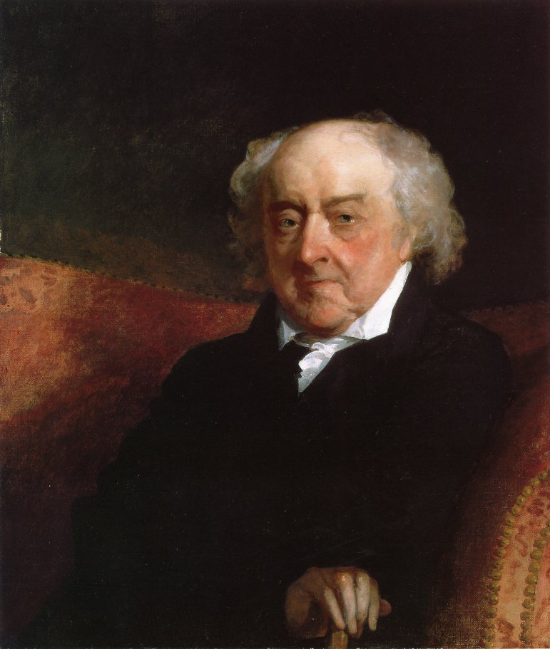 John Adams 1826 | Gilbert Stuart | oil painting
