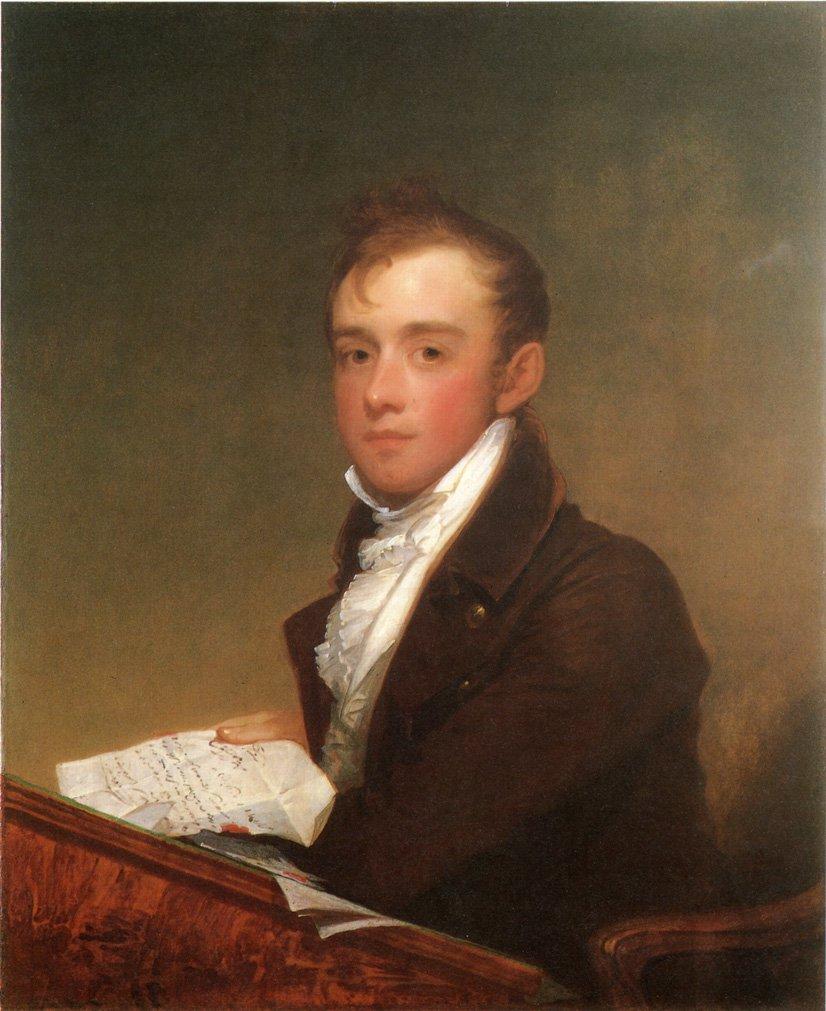 William Rufus Gray 1807 | Gilbert Stuart | oil painting