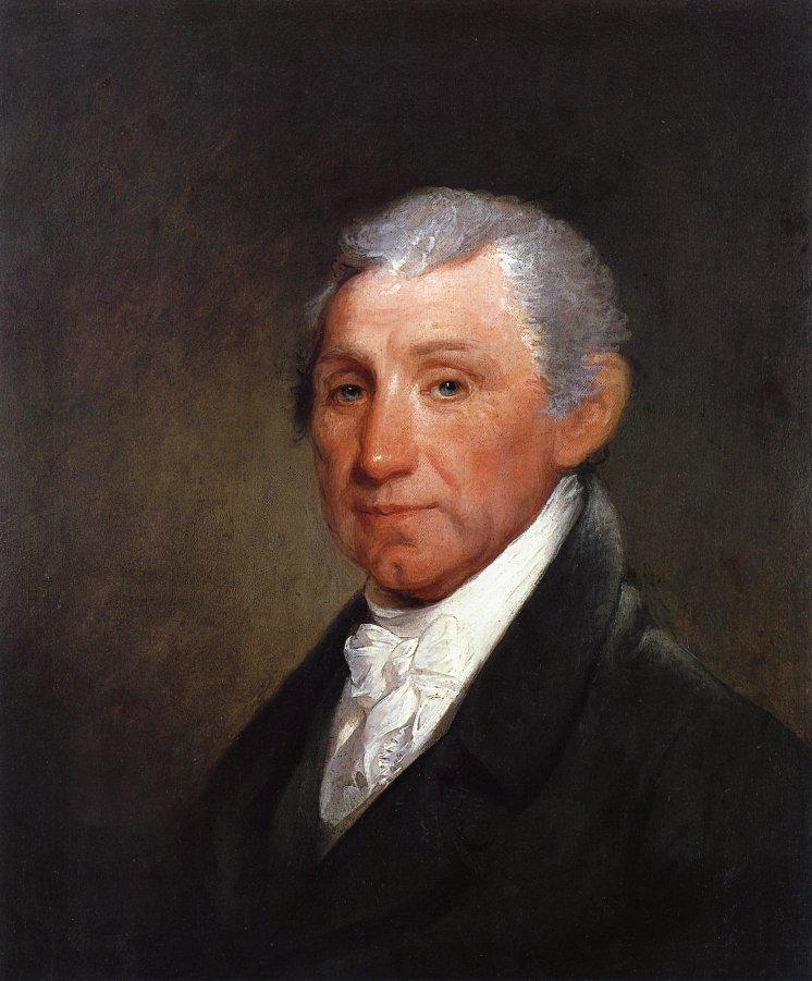 James Madison 1817 | Gilbert Stuart | oil painting
