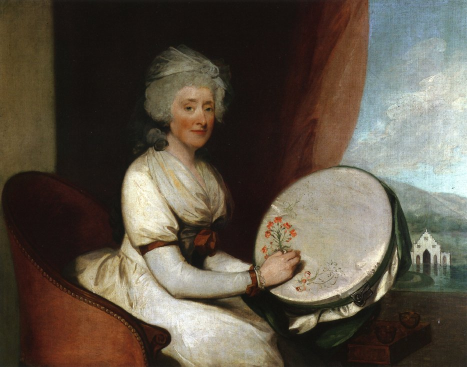 Catherine Lane Barker 1791 | Gilbert Stuart | oil painting