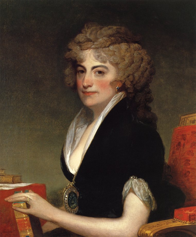 Anne Willing Bingham 1797 | Gilbert Stuart | oil painting