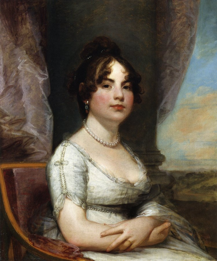 Elizabeth Beltzhoover Mason 1804 | Gilbert Stuart | oil painting