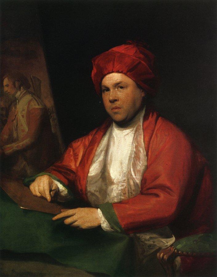 William Woollett 1783 | Gilbert Stuart | oil painting