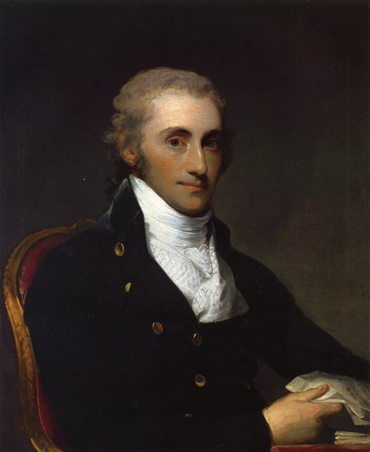 Samuel Gatliff 1798   Gilbert Stuart   oil painting