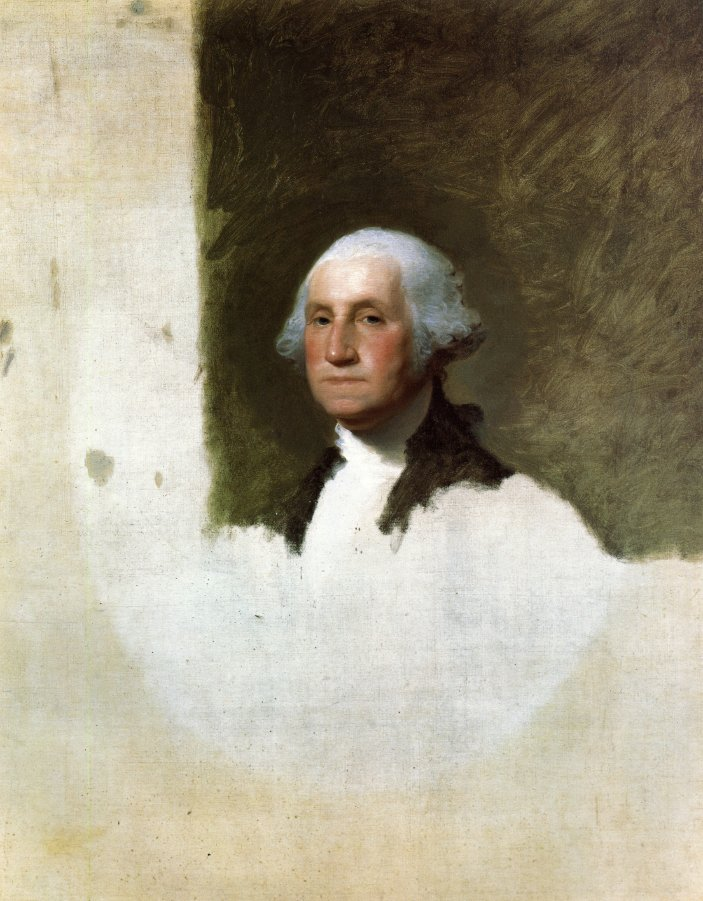 George Washington 1796 | Gilbert Stuart | oil painting