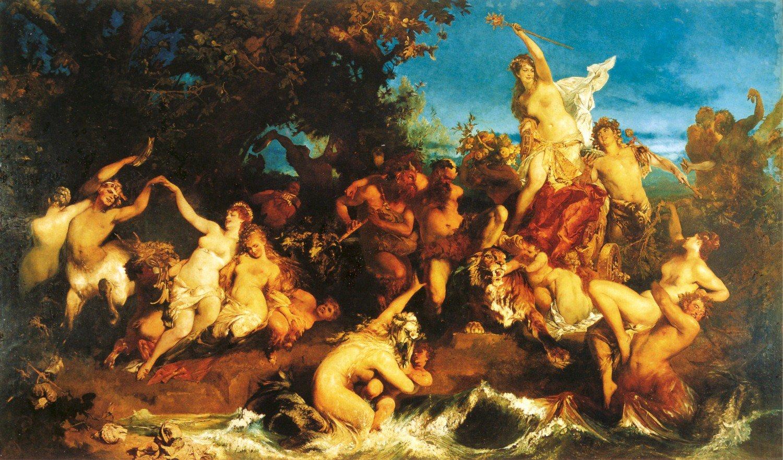 Der Triumph der Ariadne 1874 | Hans Makart | oil painting