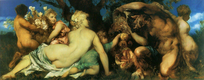 Die Ernte 1872 | Hans Makart | oil painting
