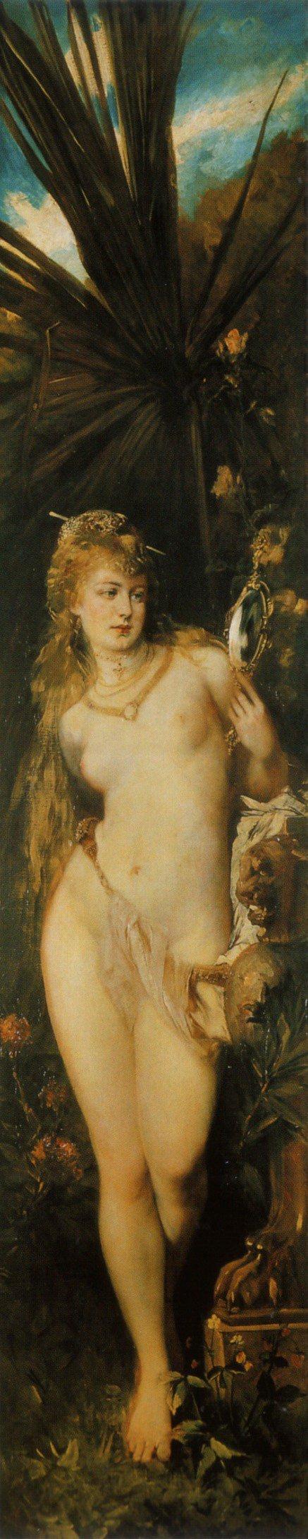 Gesicht 1879 | Hans Makart | oil painting